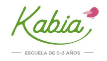 Escuela infantil en Pamplona - Logotipo de Kabia